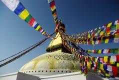 Kathmandu stupa Stock Image