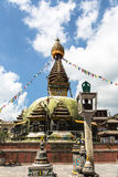 Kathmandu stupa Arkivbilder
