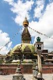 Kathmandu stupa Stock Images