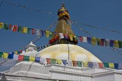 Kathmandu& x27 ; stupa de s Photos libres de droits