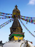 Kathmandu Stupa Nepal Royalty Free Stock Photo
