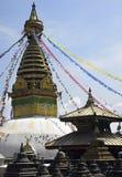 Kathmandu - Swayambhunath Stupa - Nepal royalty free stock photo
