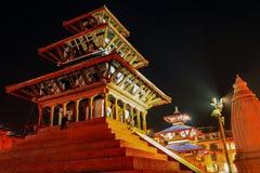 kathmandu tempel Royaltyfri Bild