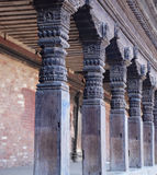 kathmandu tempel Fotografering för Bildbyråer