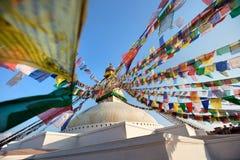 kathmandu tempel Royaltyfria Foton