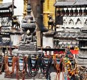 kathmandu tempel Royaltyfria Bilder