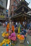 Kathmandu ulica Fotografia Stock
