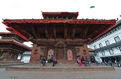 Kathmandu Unesco budynki przed trzęsieniem ziemi, Nepal Zdjęcie Royalty Free