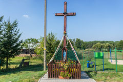 Katholicisme in Polen stock afbeelding
