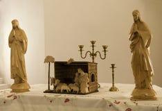 Katholiek altaar Stock Afbeelding