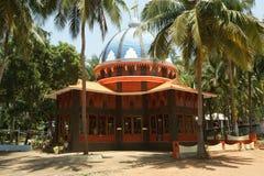 Katholiek bedevaartcentrum Kochi, Kerala, Zuid-India stock fotografie