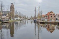 Katholiek H Laurentius Church At Weesp The Nederland Stock Foto's