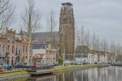 Katholiek H Laurentius Church At Weesp The Nederland Royalty-vrije Stock Fotografie