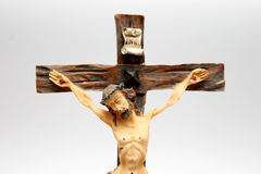 Katholiek kruis stock fotografie