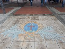 Katholiek Symbool Royalty-vrije Stock Afbeelding