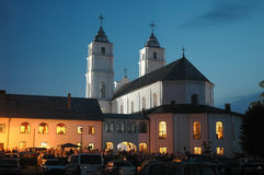 Katholieke Basiliek Stock Afbeelding
