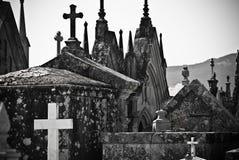 Katholieke Cementery Stock Afbeeldingen