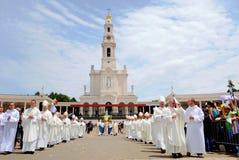 Katholieke Godsdienst, Godsdienstig Geestelijke, Geloof, Onze Dame Fatima Sanctuary royalty-vrije stock foto