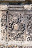 Katholieke grafzerk in een Britse begraafplaats Stock Foto