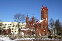 Katholieke kapel Stock Afbeelding