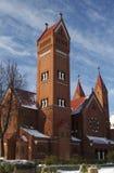 Katholieke kapel Royalty-vrije Stock Foto