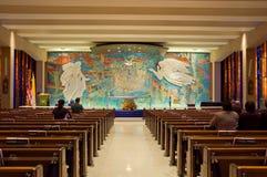 Katholieke kapel Royalty-vrije Stock Afbeeldingen