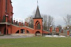 Katholieke kathedraal Stock Afbeeldingen