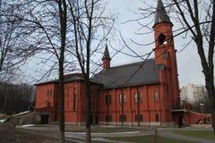 Katholieke kathedraal Stock Fotografie