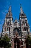 Katholieke kathedraal Royalty-vrije Stock Fotografie