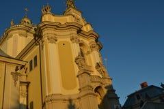 Katholieke kathedraal Royalty-vrije Stock Foto's