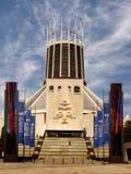 Katholieke Kathedraal Liverpool Stock Afbeeldingen
