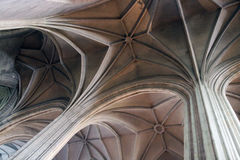 Katholieke kerk binnen details Royalty-vrije Stock Fotografie