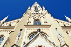 Katholieke kerk, katholieke godsdienst royalty-vrije stock foto