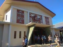 Katholieke kerk in Manado stock foto