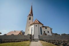 Katholieke kerk in marbach, emmentaler entlebuch Zwitserland stock fotografie