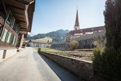 Katholieke kerk in marbach, emmentaler entlebuch Zwitserland royalty-vrije stock afbeeldingen