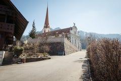 Katholieke kerk in marbach, emmentaler entlebuch Zwitserland royalty-vrije stock foto