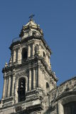Katholieke kerk in Mexico Royalty-vrije Stock Afbeelding