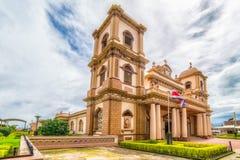 Katholieke Kerk in Naranjo, Costa Rica Royalty-vrije Stock Foto