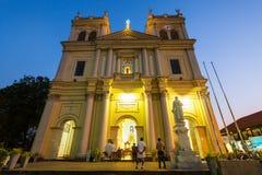 Katholieke Kerk in Negombo stock fotografie
