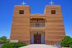 Katholieke Kerk New Mexico Stock Afbeeldingen