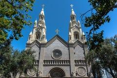 Katholieke kerk in San Francisco royalty-vrije stock afbeeldingen