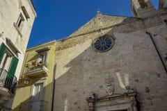 Katholieke Kerk St Anna in Bari stock foto