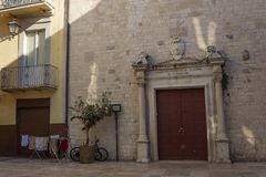 Katholieke Kerk St Anna in Bari royalty-vrije stock foto