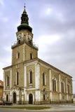 Katholieke Kerk in stad Modra royalty-vrije stock foto