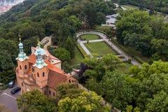 Katholieke kerk van Royalty-vrije Stock Afbeelding