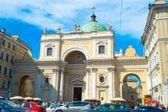 Katholieke Kerk van Heilige Catherine Royalty-vrije Stock Foto