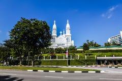 Katholieke kerk van st Teresa stock afbeeldingen