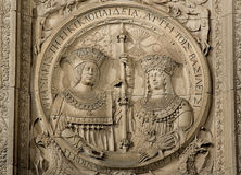 Katholieke koningen Royalty-vrije Stock Foto's