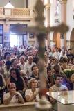Katholieke Massa ter ere van St Jude Day Stock Foto's